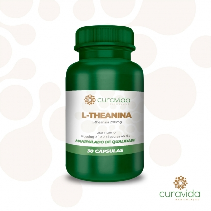 L-theanina 200mg